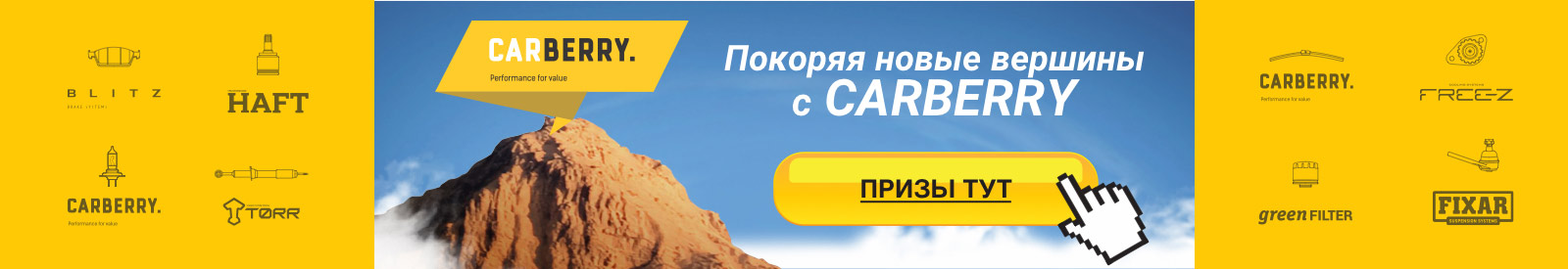 АКЦИЯ CARBERRY
